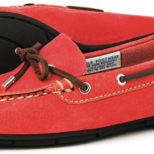 Ballena Loafer in Fire Red