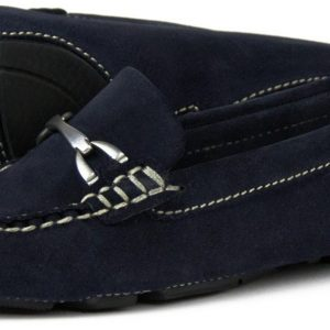Sorrento Navy Driving Shoe from Artichoke