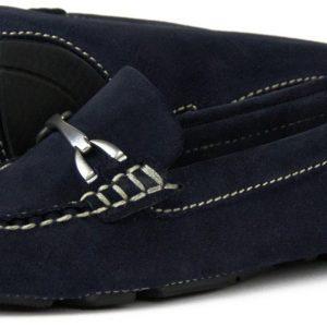 Sorrento Navy Driving Shoe from Artichoke