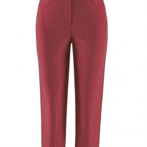 Loli 602 Spot Capri Trouser in Red