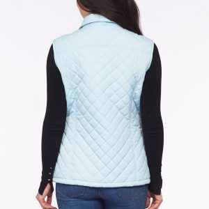 Diamond Quilted Gilet Back View