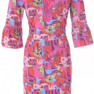 Contemporary Print K-Design Dress