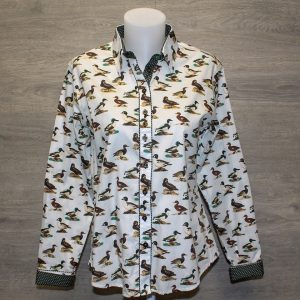 Duck Design Boyfriend Shirt