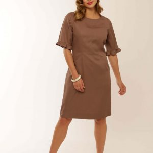 Tencel Knee length dress