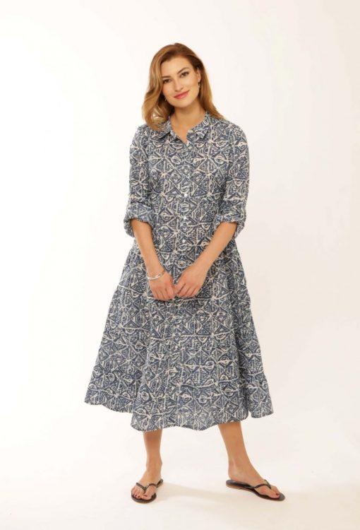 Fine Cotton Batik Dress