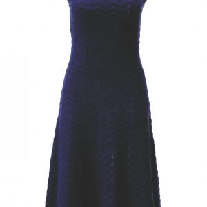 K design pointelle midi dress
